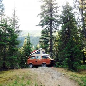 camper landscape