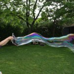 Come realizzare bolle di sapone giganti